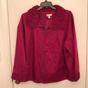 Beautiful Susan Graver light weight jacket. NWOT
